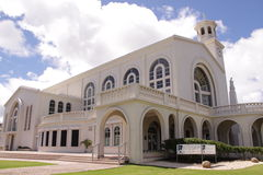 Guam Agana Cathedral Stock Images