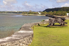 Guam Cannon Stock Photo