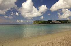 Guam Two Lover's Point. Two Lover's Point in tropical island of Guam Stock Photo