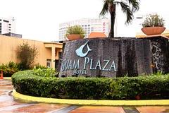 Guam Plaza Hotel. royalty free stock photography