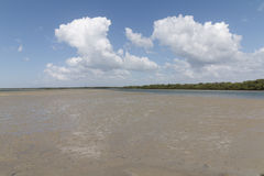 Guamaré муниципалитет в положении Риу-Гранди-ду-Норти i Стоковое Изображение RF