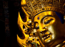guan雕象美妙的yin 免版税库存图片