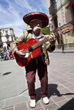 guan οδοί μουσικών κιθάρων μ&epsilon Στοκ εικόνα με δικαίωμα ελεύθερης χρήσης