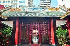 Guan Di temple, Kuala Lumpur Stock Images