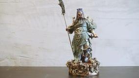 Guan Gong - dios de la guerra almacen de metraje de vídeo