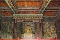 Guan Gong Temple arkivfoton