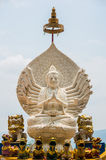 Guan-im Bhodisatva Statue Royalty Free Stock Photo