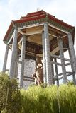 guan statyyin Tro buddhism royaltyfri foto