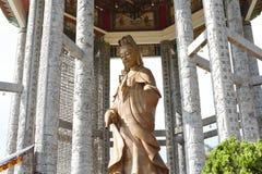 guan statyyin Tro buddhism fotografering för bildbyråer