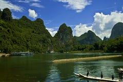 Guan Yan Li River scenery Stock Images