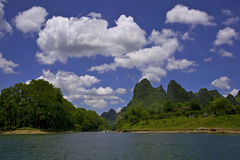 Guan Yan Li River scenery Stock Photography