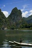Guan Yan Li River scenery Royalty Free Stock Photography