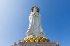 Guan Yin в Sanya стоковое фото
