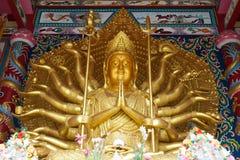 Guan Yin avec des mains de dix-millièmes Photos libres de droits