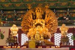 Guan Yin Buddha Arkivbild