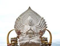 Guan yin buddha statue Royalty Free Stock Image