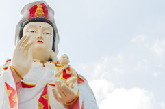 The Guan Yin Buddha Statue Stock Photography