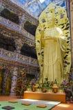 Guan Yin Chinese God Stockbilder