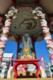 Guan Yin in Chinese joss house Stock Images