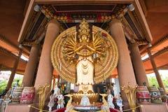 Guan Yin com dez mil mãos Fotografia de Stock