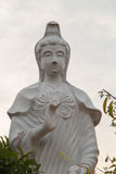 Guan Yin is de Godin van Genade en Medeleven in boeddhistisch royalty-vrije stock foto