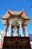 Guan Yin en casa de ídolo chino china en el templo Foto de archivo