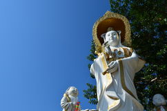 Estatua de Guan Yin imagenes de archivo