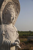 Guan yin, Goddess of Mercy statue Stock Photography