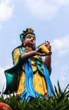 Guan Yin Image (Godin van Genade) in Thailand Stock Foto's