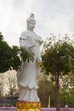 Guan Yin ist die Göttin der Gnade und des Mitleids im Buddhisten Lizenzfreies Stockfoto