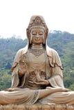 Guan Yin Made del latón. Imagenes de archivo