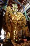 Guan Yin met tienduizendtalhanden Royalty-vrije Stock Foto's