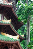 Guan Yin-Pagode am Ort von Tiger Cave Temple (Wat Tham Suea) K Stockbilder
