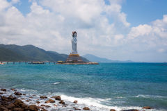 Guan Yin in Sanya Stock Photo