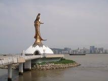 Guan Yin Statue em Macau foto de stock