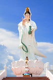 Guan Yin statue of god and little Guan Yin Royalty Free Stock Photo