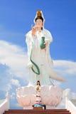 Guan Yin statue of god and little Guan Yin Royalty Free Stock Photo