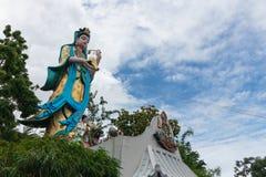 The Guan Yin statue stock photo