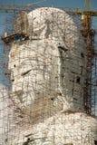 Guan Yin statue under construction, Wat huay pla kang Stock Photo