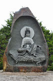 Guan Yin Statue in Wowoojongsa temple ,South Korea Stock Photos