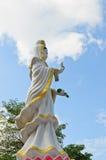 Guan-Yin staty Arkivfoton
