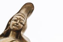 Guan Yin staty på Macao Royaltyfria Foton