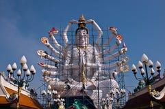 Guan Yin in thai temple Royalty Free Stock Image