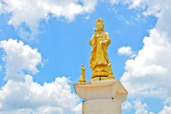 Guan Yin in Thailand Royalty Free Stock Photos