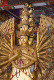 Guan yin thousand hand Royalty Free Stock Images