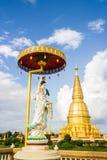 Guan yin wat pharbahthaytum lumphun Thailand Royalty Free Stock Photo