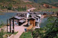 Guan Yin Xia, China: Naxi Water Village Royalty Free Stock Photos
