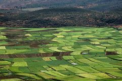 Guan Yin Xia, China: Verdant Farmlands Stock Images