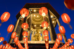 Guan yintempel fotografering för bildbyråer