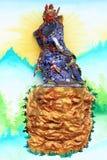 Guan Yu Imagem de Stock